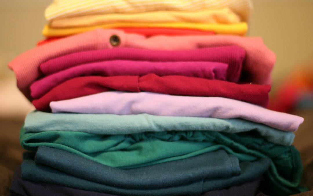 Savoir plier ses vêtements: une étape cruciale